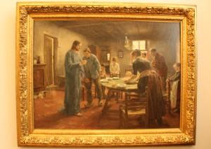 Fritz von Uhde - Das Tischgebet