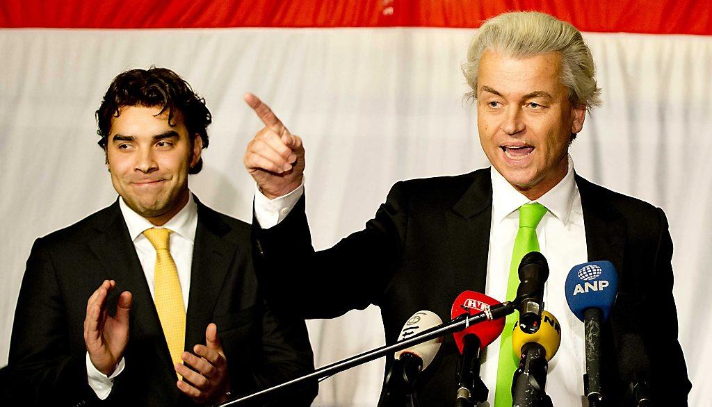 Bijeenkomst verkiezingsavond PVV