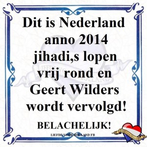 Wilders tegel;tje