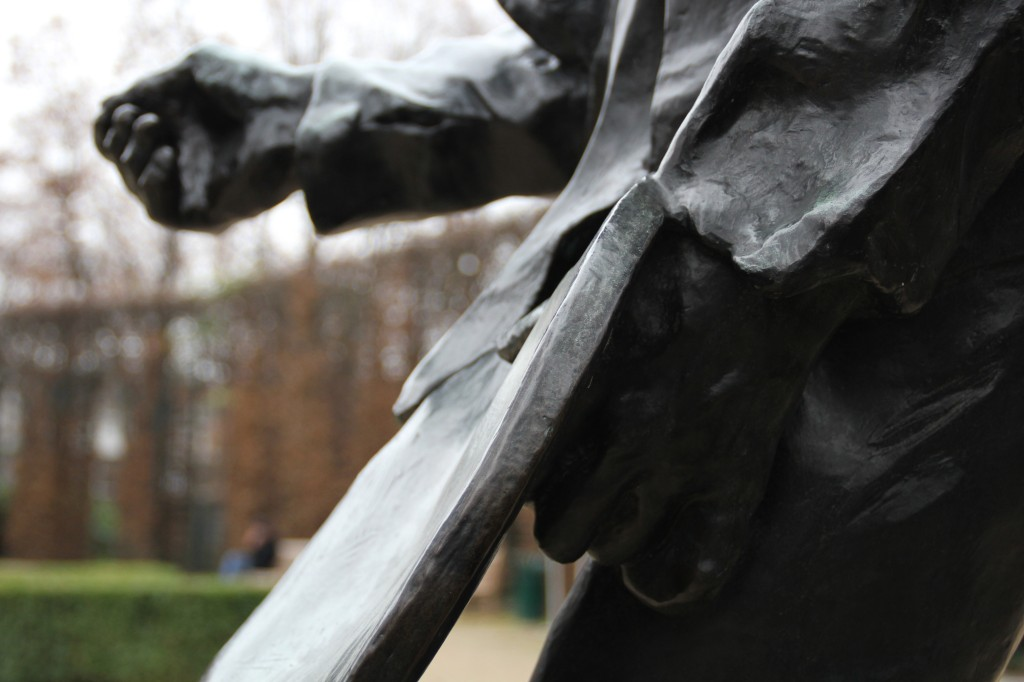 Detail: The Painter - August Rodin