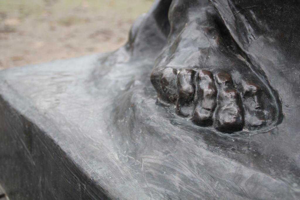 Detail voet