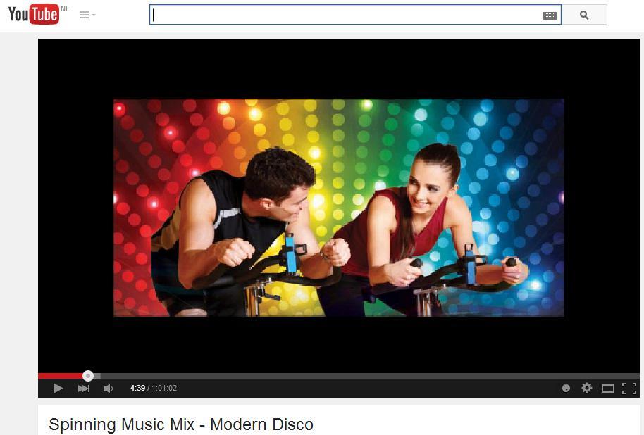 Spinning Music modern disco