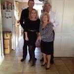 Edje, Machteld, Tante Ivonne en Ome Jan