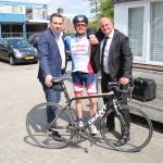 Robert (L) en Peter (R). Robert was in 1984 (!) nog mijn elftalleider van Overmaas C1!