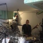 Ton achter de drums