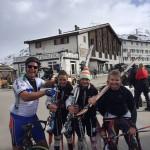 Martijn en zijn skiklas