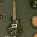 Guitar Bruce Springsteen, Stone Pony, Asbury Park NJ