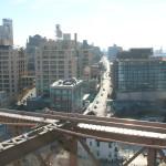 Uitzicht op Furman Street (Brooklyn)