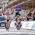 27 maart 2016: Chantal Blaak wint Gent-Wevelgem