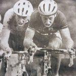 Met broer Edward in de Ronde van Zuidland (1996)
